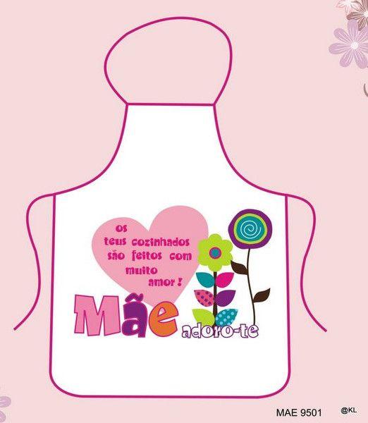 fd127580a Avental lindo para o Dia da Mãe! | Prendas para o Dia da Mãe ...