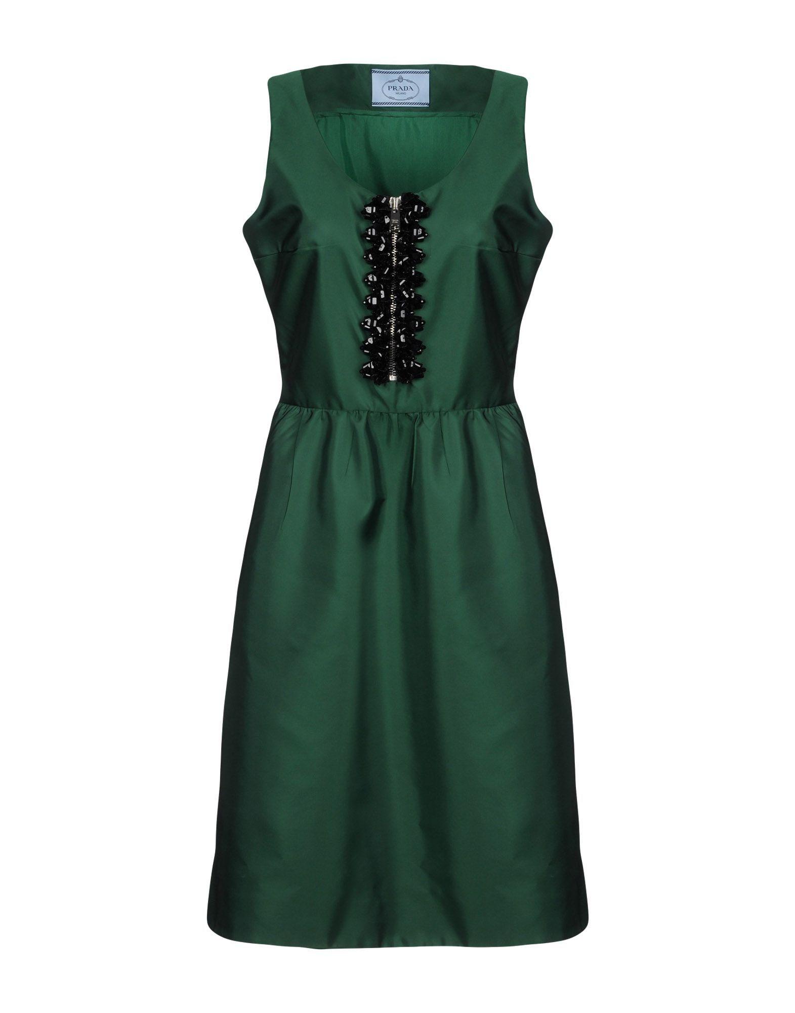 prada  cloth   Women s Knee Length Dresses 63a17e2952