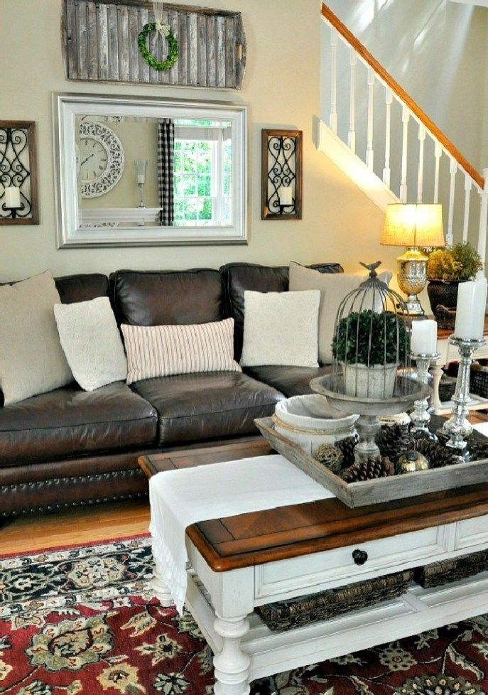 Best Dark Brown Leather Couch Ideas And Pictures 34 Brown