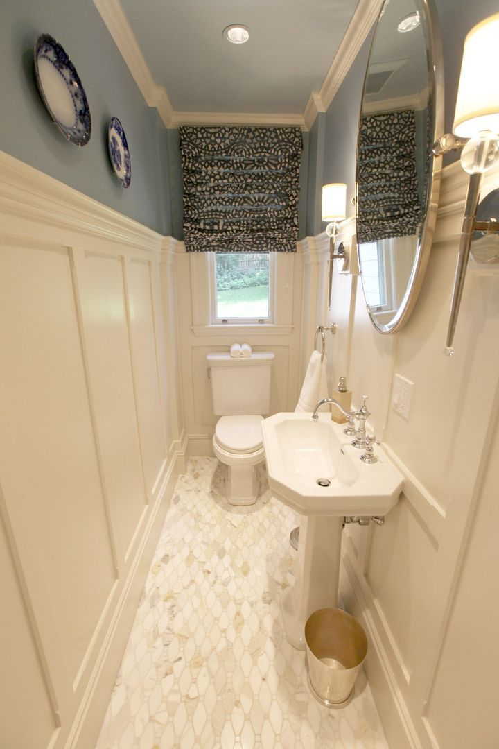 Tiny Bath Remodel Small Narrow Guest Bath Powder Room