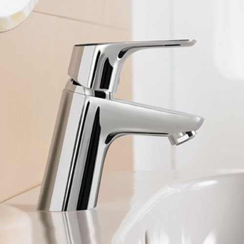 Hansgrohe Focus E2 Single Lever Basin Mixer 70 With Pop Up