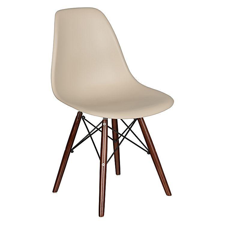 Replica Eames Eiffel DSW Dining Chair, Walnut Legs
