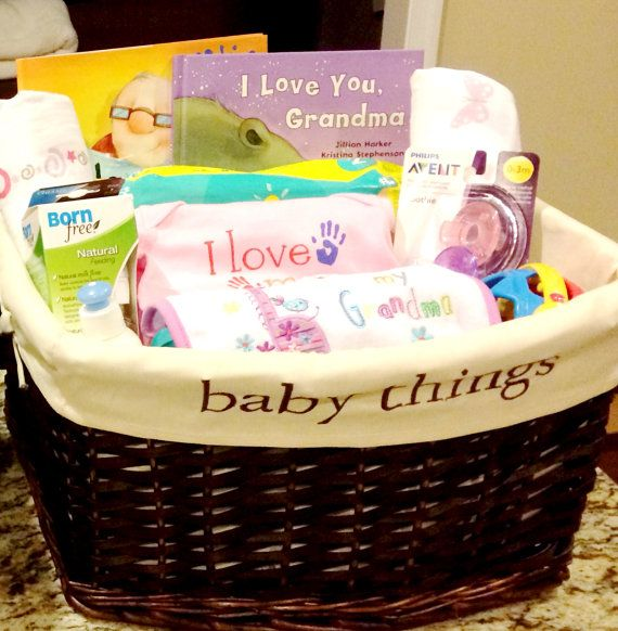 Baby Gift Basket Kit : Is there a soon to be grandma in your life get her the