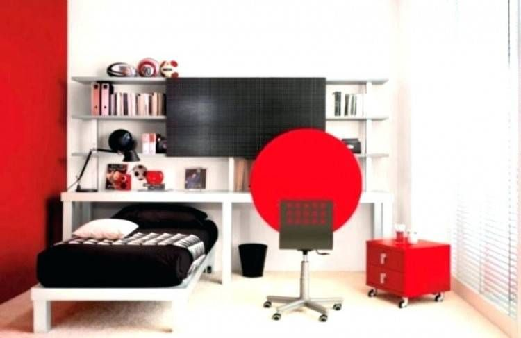 Bedroom Ideas Red And White | White Room Decor, Bedroom Red, White Room Decor Bedroom