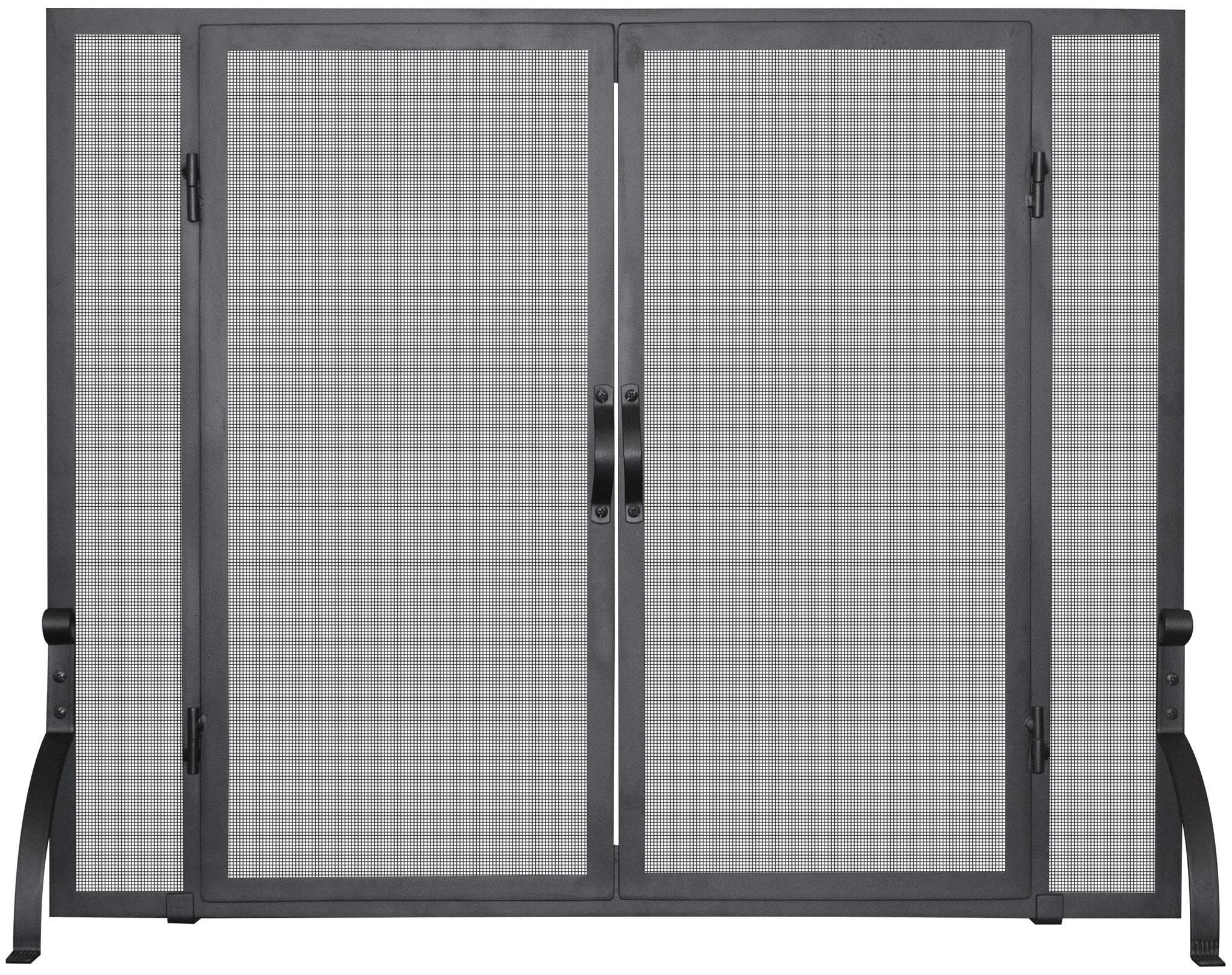 single panel screen w doors screens fireplace screens and doors