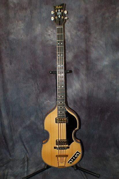 2012 Hofner 5000 1 Deluxe Violin Beatle Bass Natural Made In Germany Case Candy Hardshell Case Lawman Guitars Give Us Guitar Vintage Guitars Custom Guitars