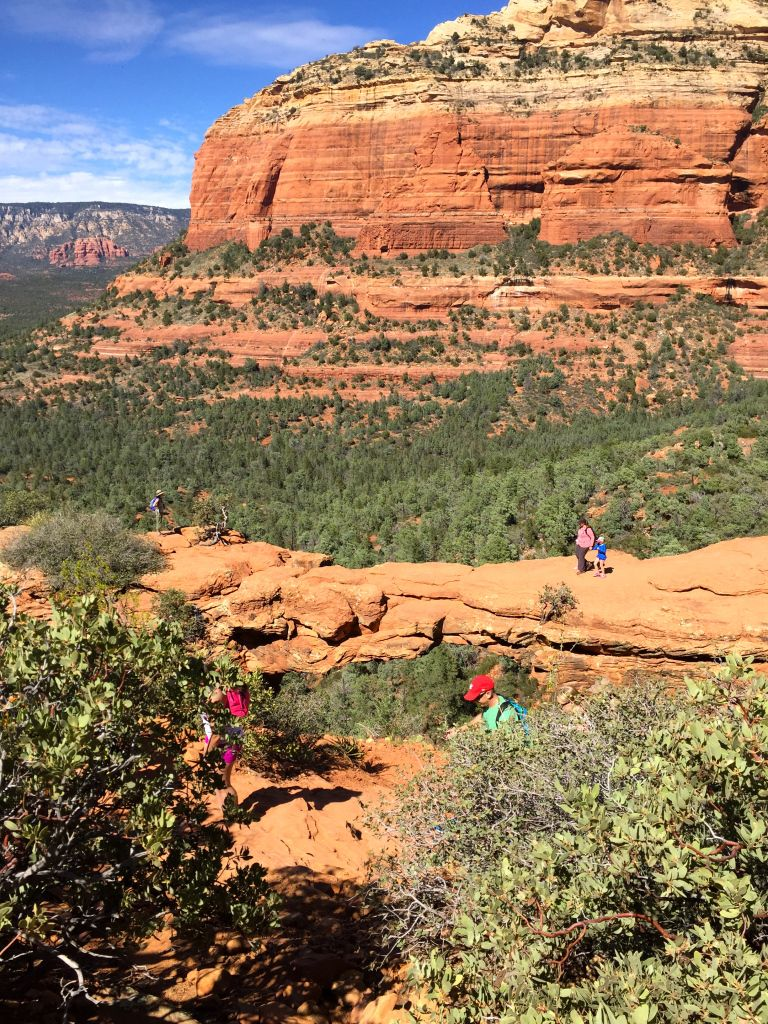At the end of March Ben and I traveled to Sedona Arizona with my