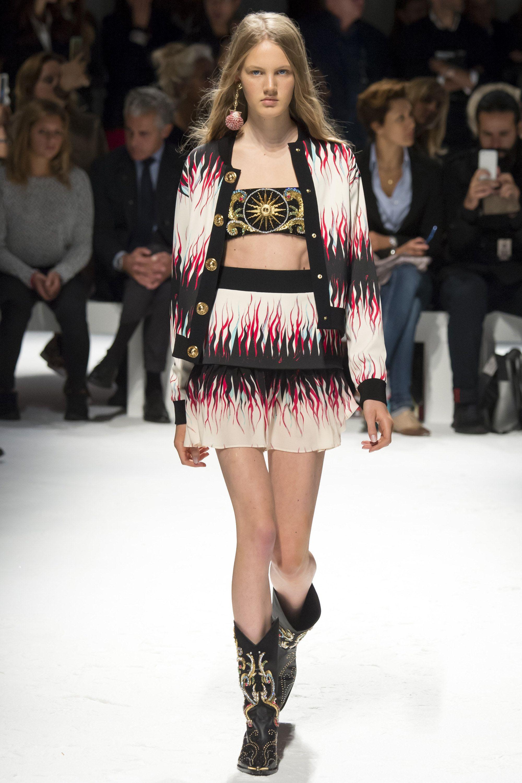 Fausto Puglisi Spring 2016 Ready-to-Wear Fashion Show - Leila Nda