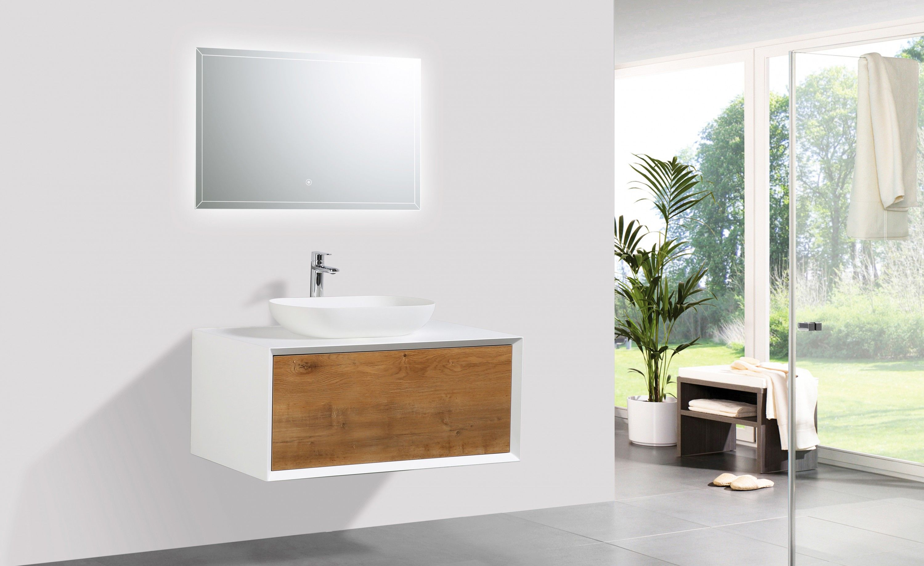 fiona  badmöbel set weiß moderne badezimmermöbel