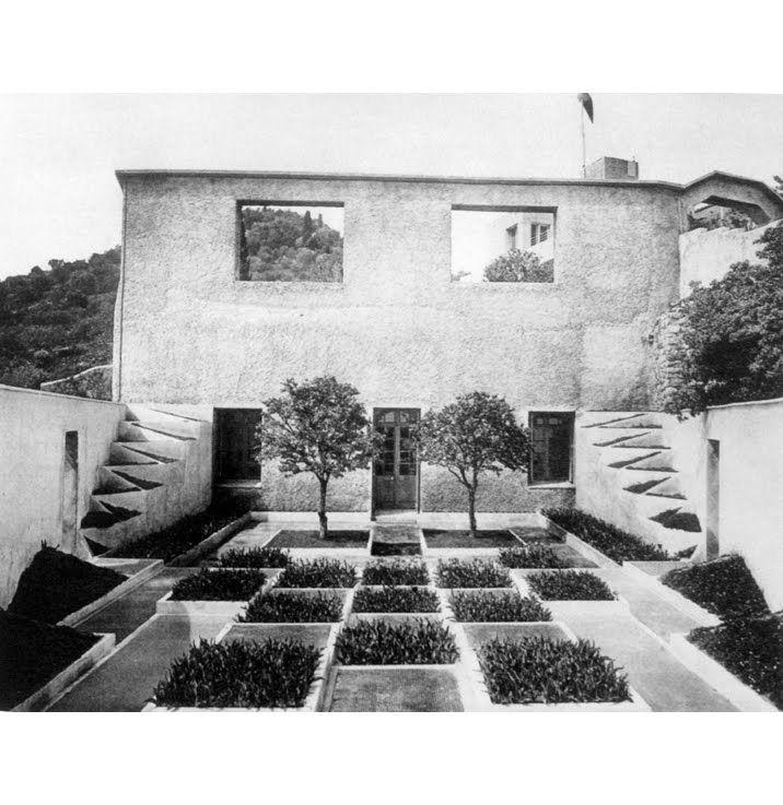 Jardín cubista de Gabriel Guevrekian_Villa Noailles de Robert Mallet ...