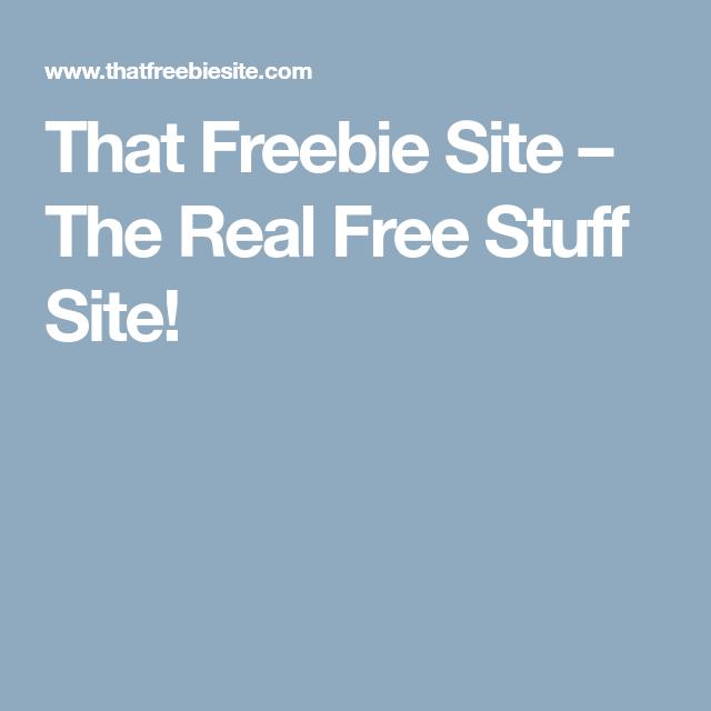 Real free stuff online