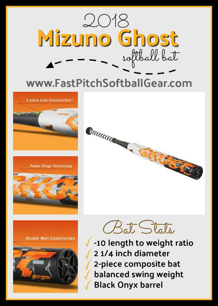 2018 Mizuno Ghost -10 Fastpitch Softball Bat Review  Is this