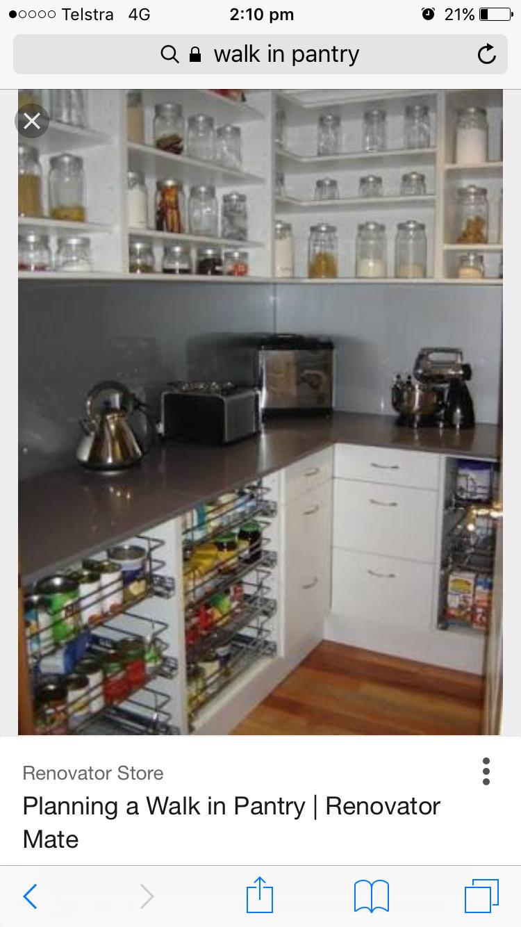 Pin von Charmaine Hammond auf Butlers pantry | Pinterest
