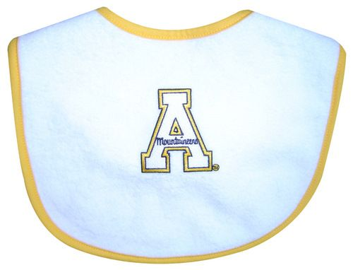 App State College Apparel Baby Bib Baby Gear Baby