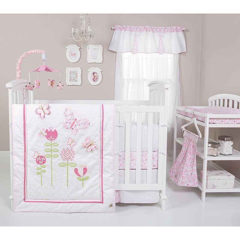 6858cde18d49e Trend Lab Floral Fun 6-pc. Crib Bedding Set