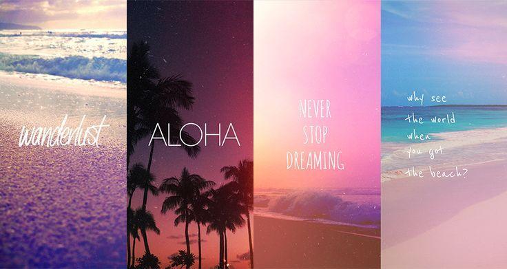 Beach Quotes Wallpaper: Summer Wallpapers Tumblr - Buscar Con Google