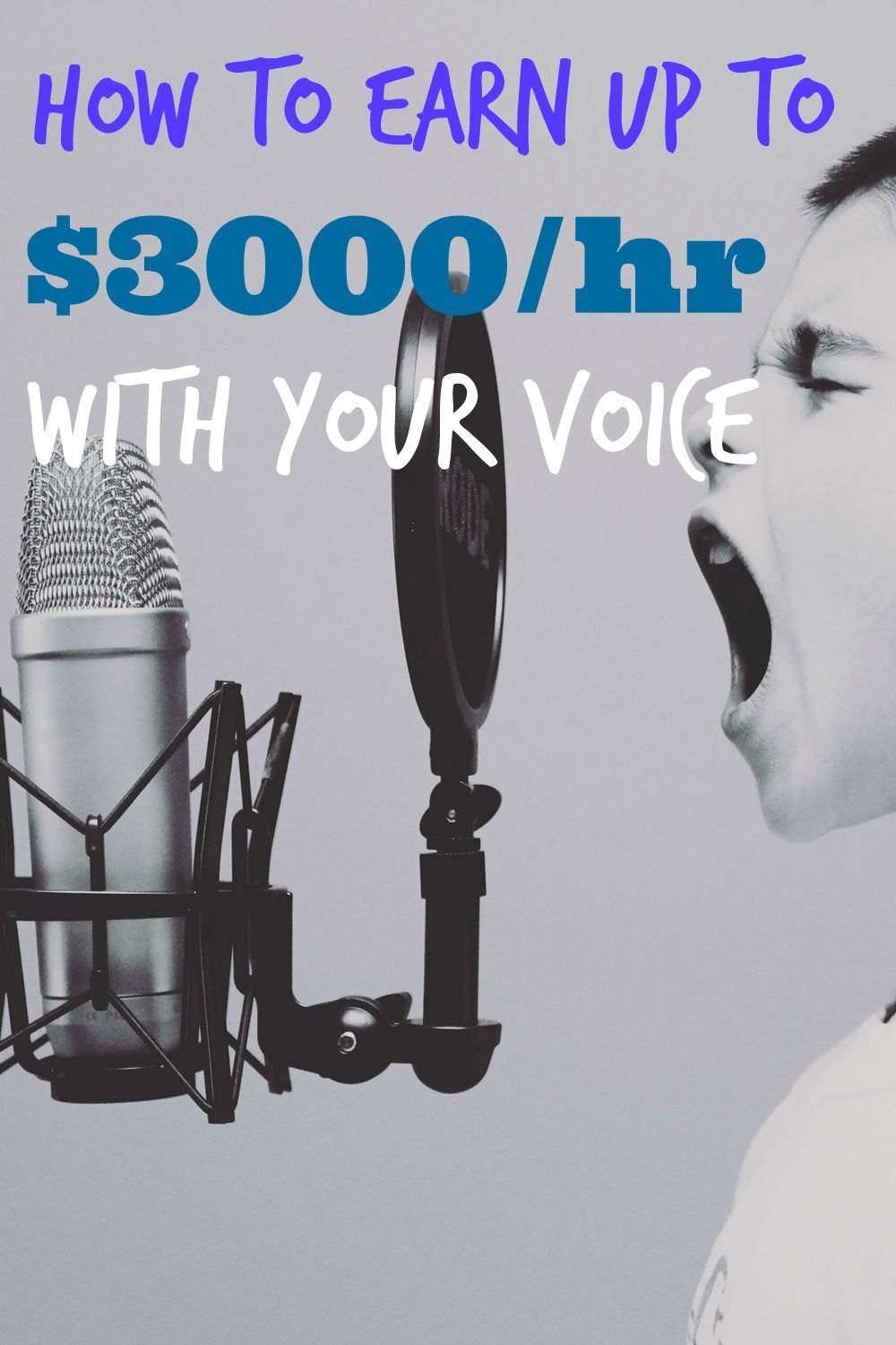 162 Voiceover Acting How to Earn up to 3000 an Hour