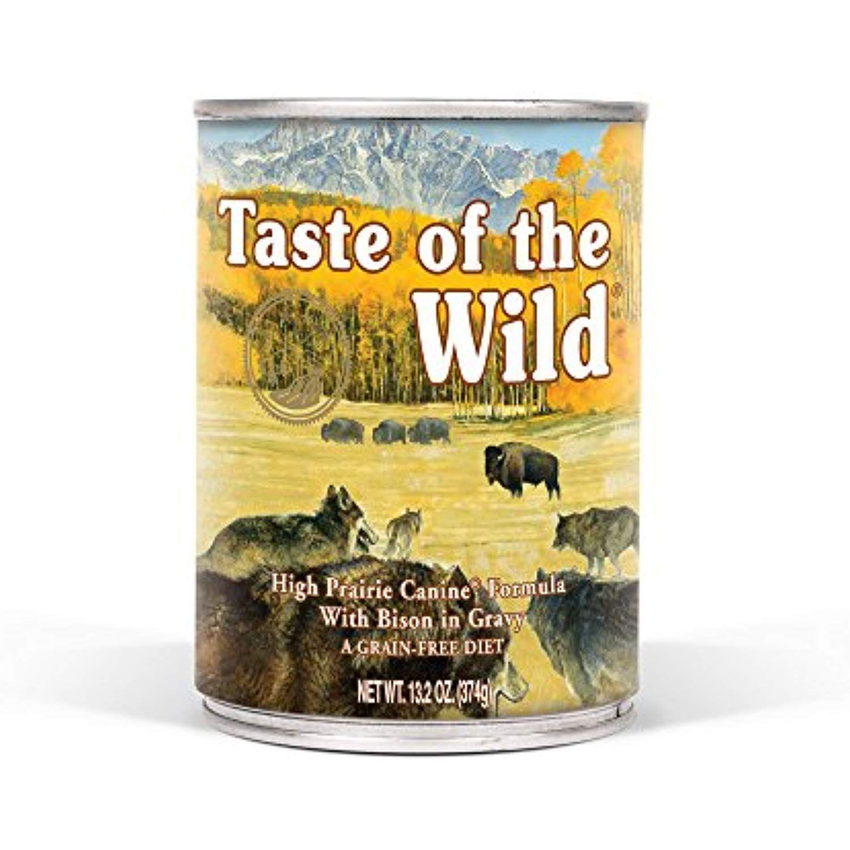 Taste o f the wild high prairie grain free protein real