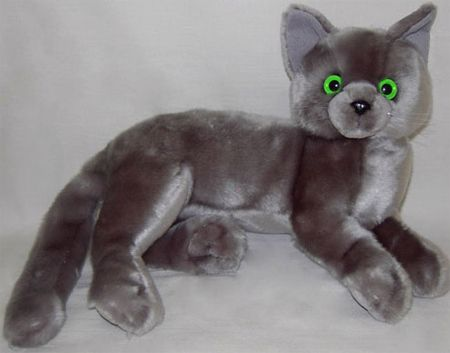 Sasha Russian Blue Cat Stuffed Animal Toy Find Out More What Cat