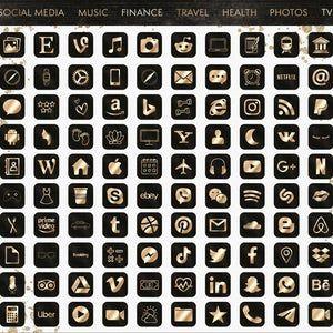 App Icons IOS 14 | iPhone IOS14 Aesthetic Covers |