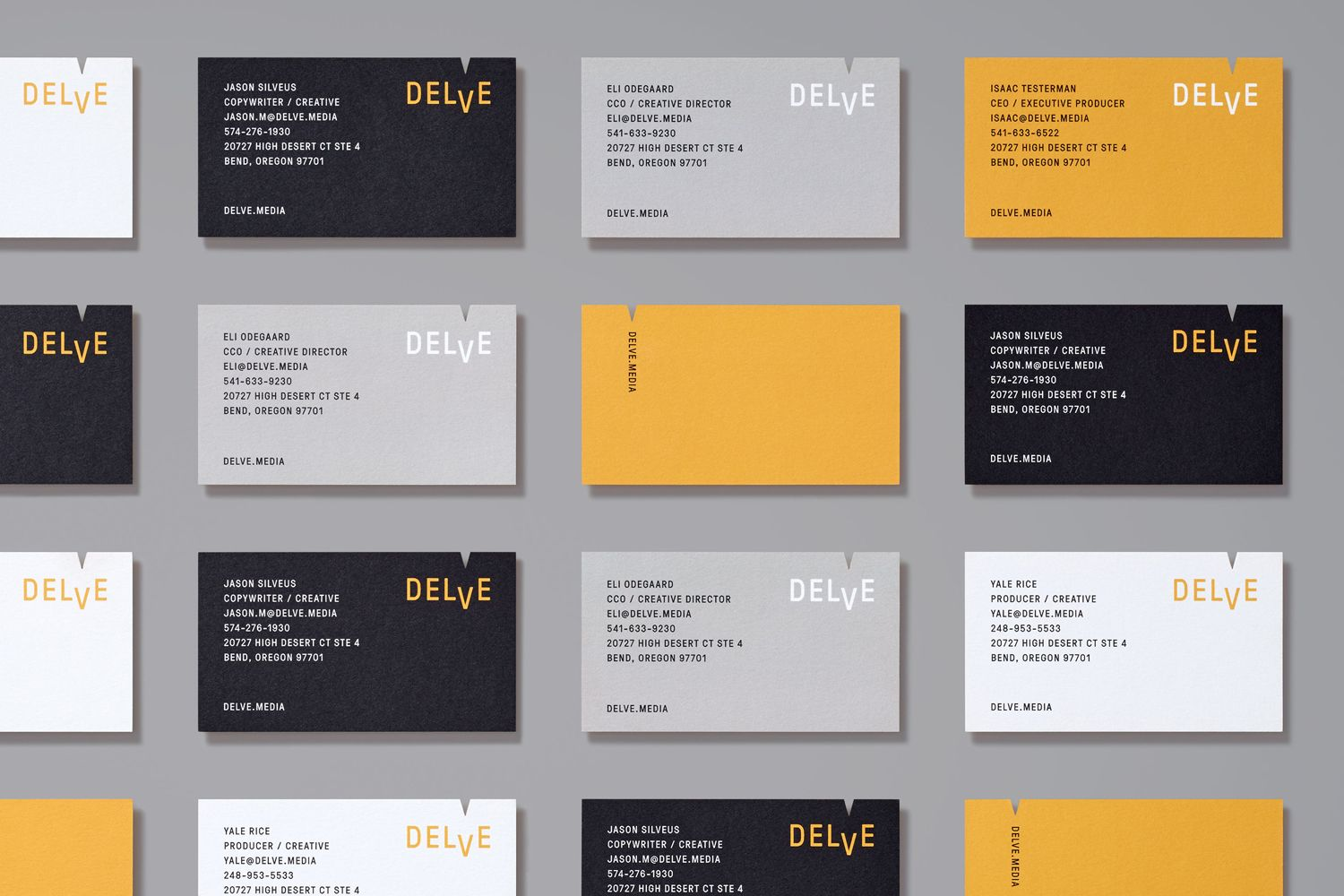 Delve by moniker visuals pinterest business cards brand delve by moniker colourmoves