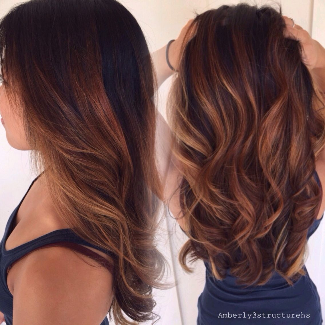 Ecaille Hair Color Pinterest