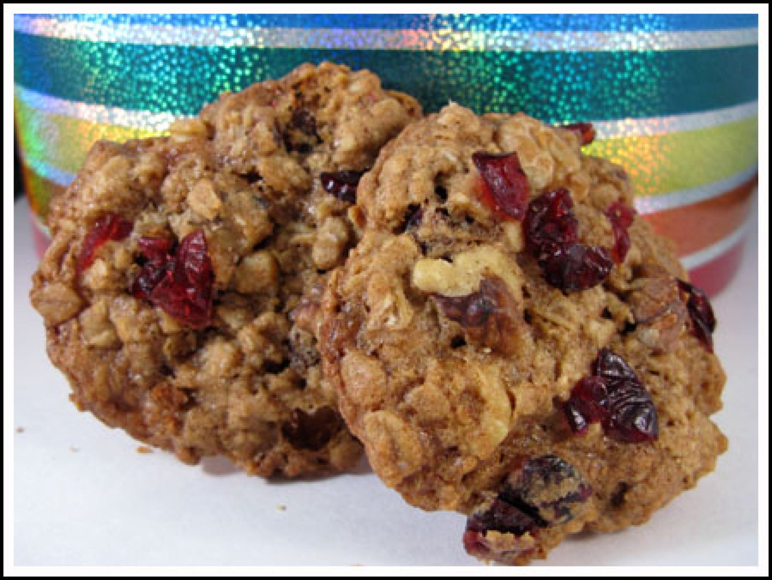 recipe: cranberry walnut oatmeal cookies crisco [4]
