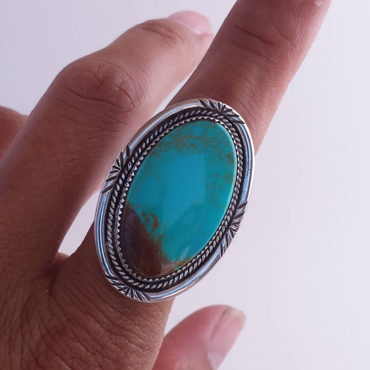 Chinese Turquoise Ring
