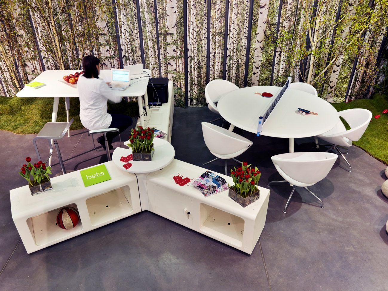 Proyecto rea de trabajo puestos de trabajo oficina for Sillones para oficina