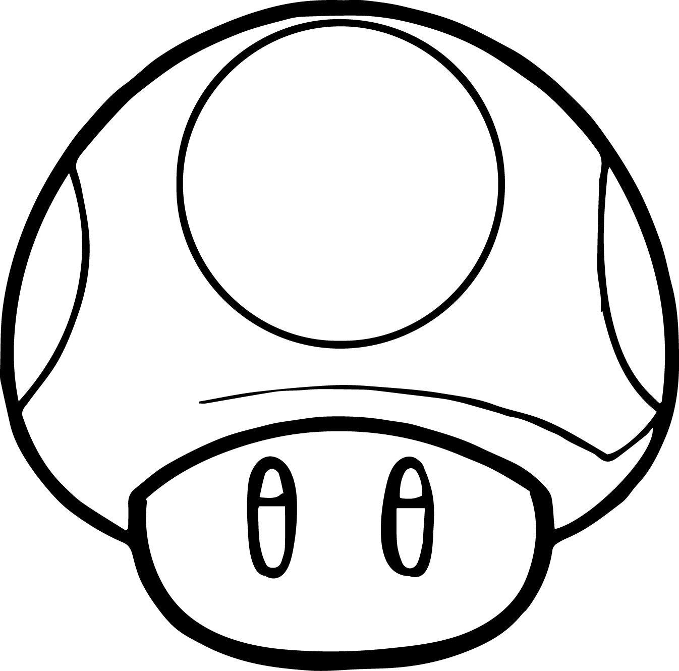 Mario Coloring Pages Mushroom Coloringstar In 2019 Super