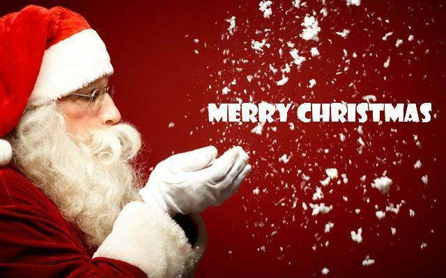 Merry Christmas Santa Image Free