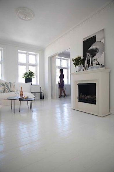 The Secret Of White Painted Floors White Painted Wood Floors