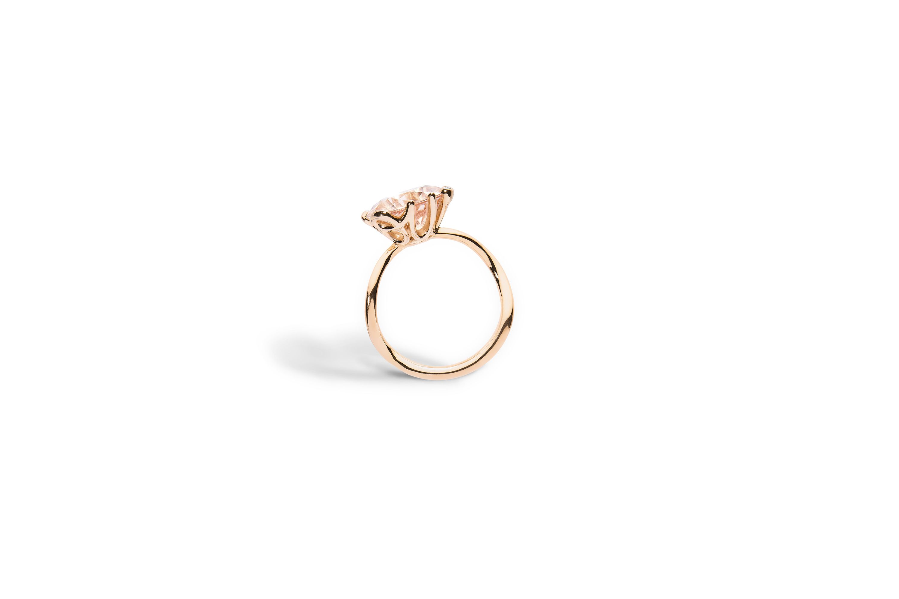 019fc937a55b5d Bague oui, or rose 750 1000e et morganite - Dior   Alliance ...