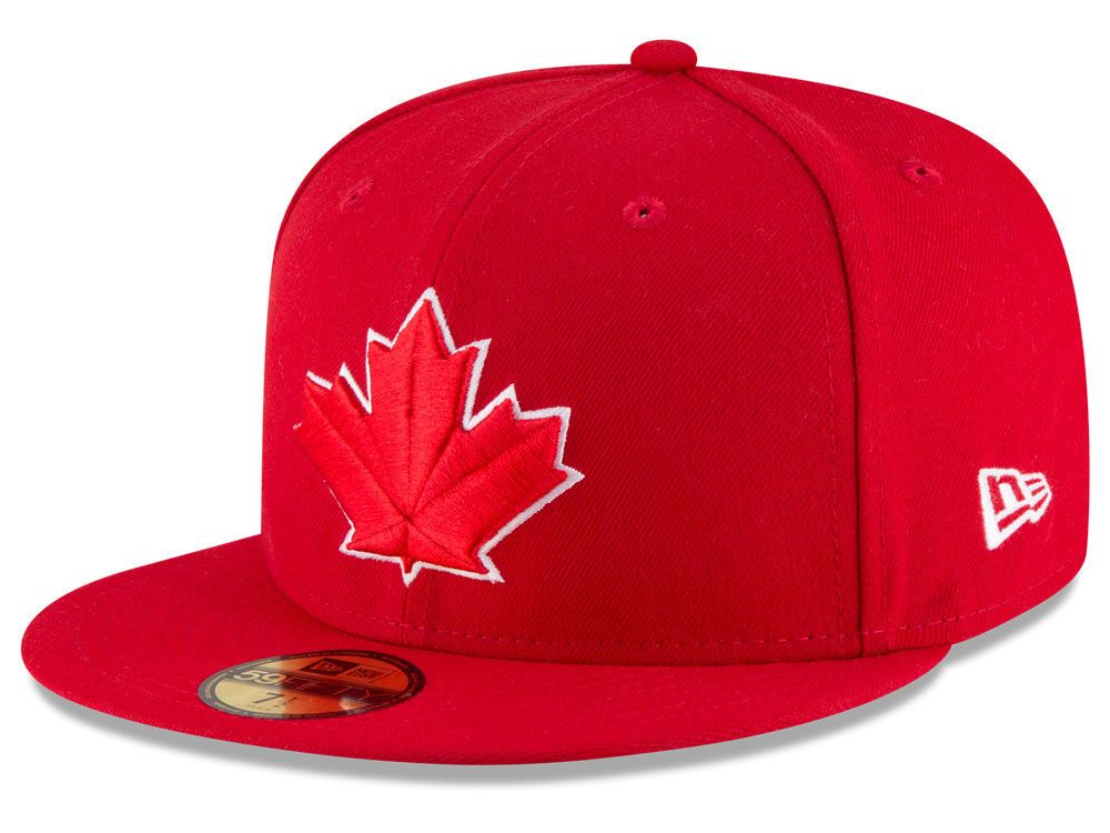 89aa3330eb6 Toronto Blue Jays New Era MLB Authentic Collection 59FIFTY Cap in ...