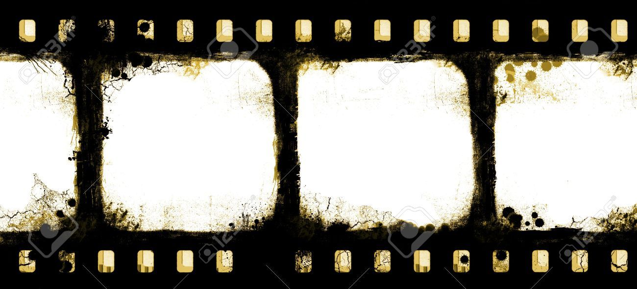 Grunge film strip frame | Class Action: Research | Pinterest ...