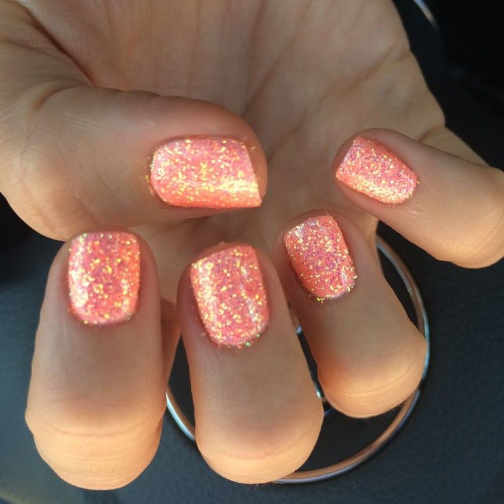 Adorable Coral Color Nails Best 25 Coral Gel Nails Ideas On