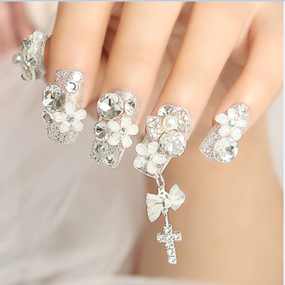 Aliexpress.com : Buy 40pcs/Lot 3D DIY Metal Nail Art Tip Decals ...