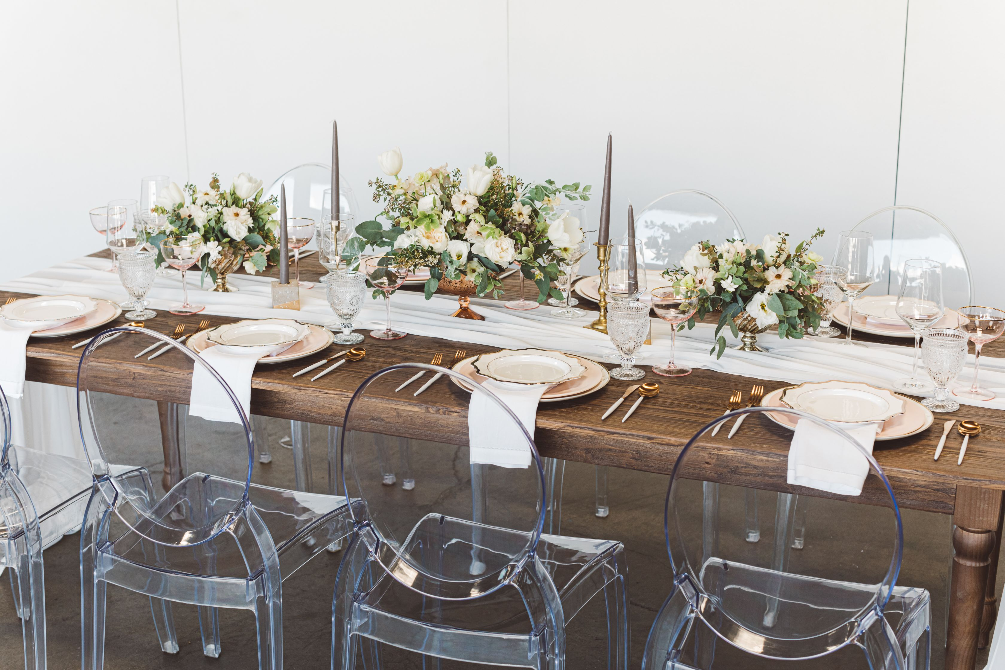 Meet Our New Plank Table On The Blog Signature Party Rentals California Southern California Orange County Wedding Seating With Images Plank Table Plank Table