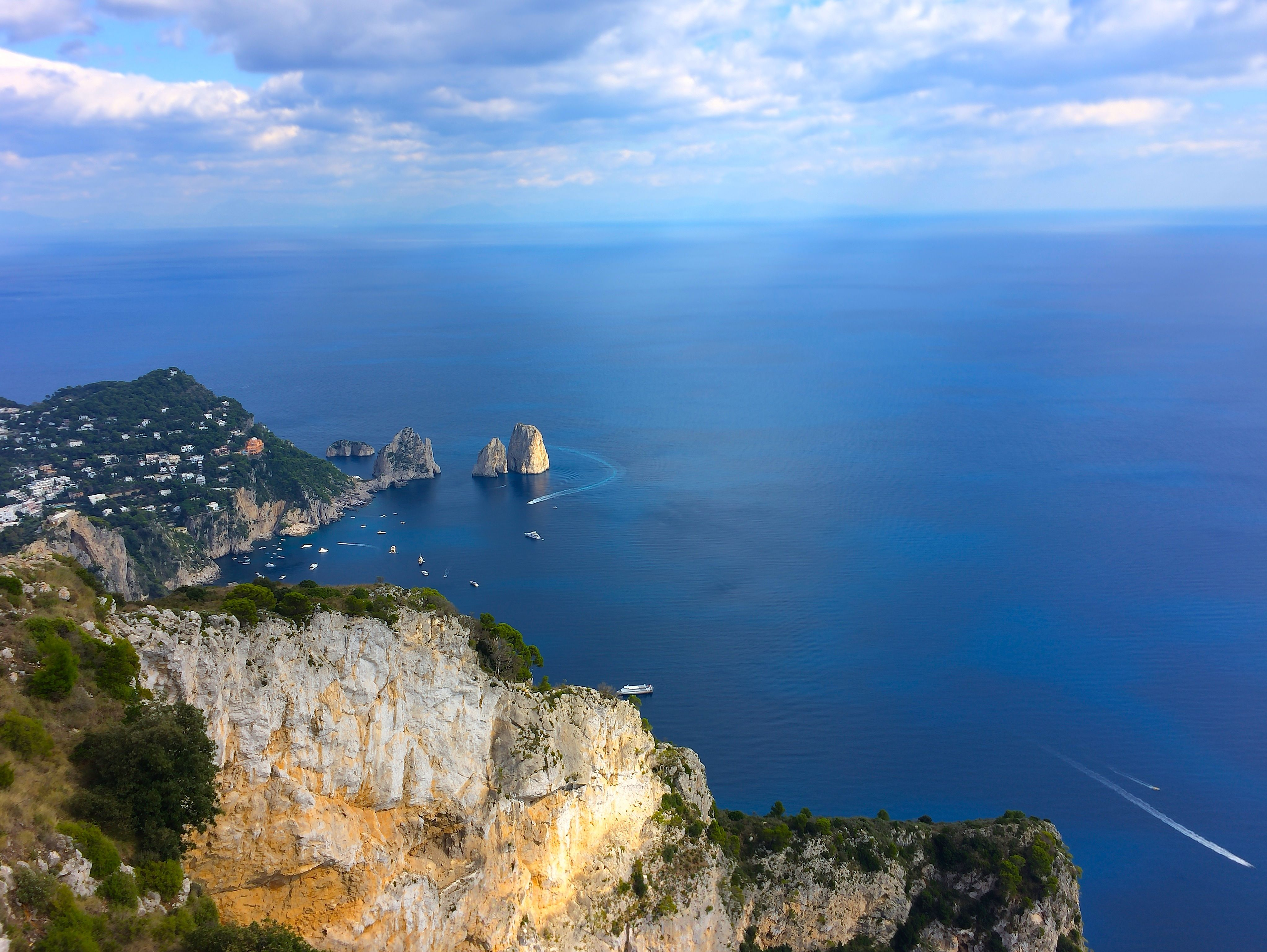 take the chairlift from anacapri to monte solaro for incredible