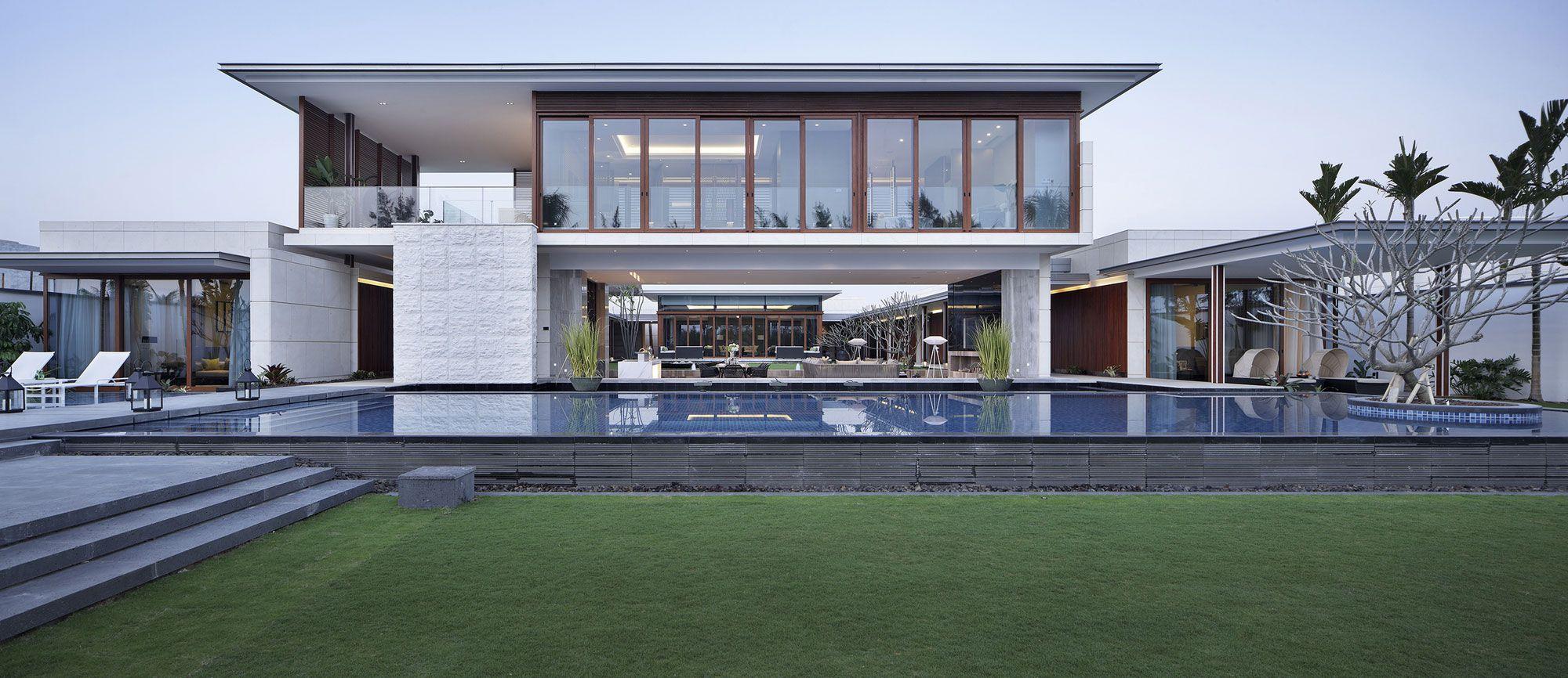 The Most Minimalist Villa In China