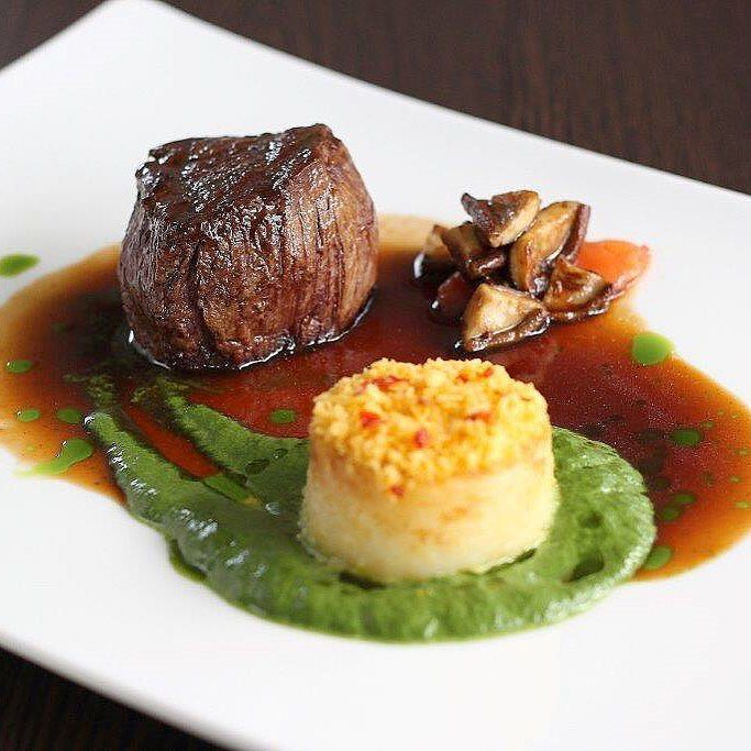 See Taste Do On Instagram The Tender Beef Eye Fillet With Spinach Cream Potato Fondant And Shiitake On The Ma Fillet Steak Recipes Food Presentation Recipes