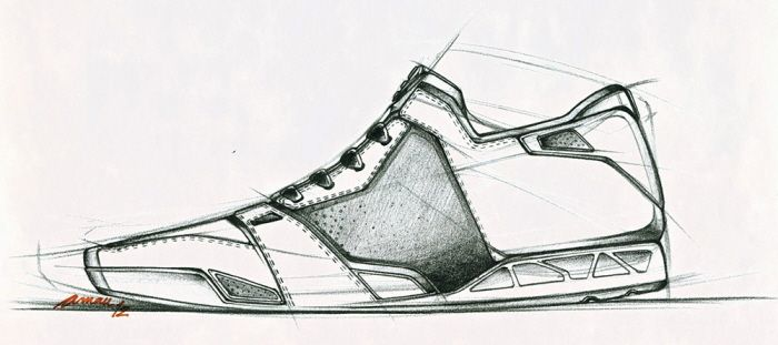 Sketches de Calzado
