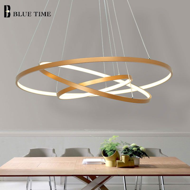 Gold Black Led Ceiling Light Hang Lamp Circle Rings Led Ceiling Lamp For Living Room Dining Ro Hanging Lights Living Room Long Ceiling Lights Lamps Living Room