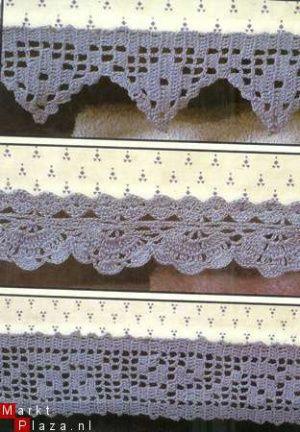 Haakpatroon 563 Zes Kastrandjes Knitting Crochet Miscellaneous
