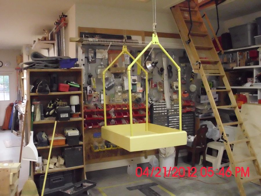 Need A Tiny Version Of This For The Lift On The Dolls House Attic Lift Garage Attic Lift Garage Attic