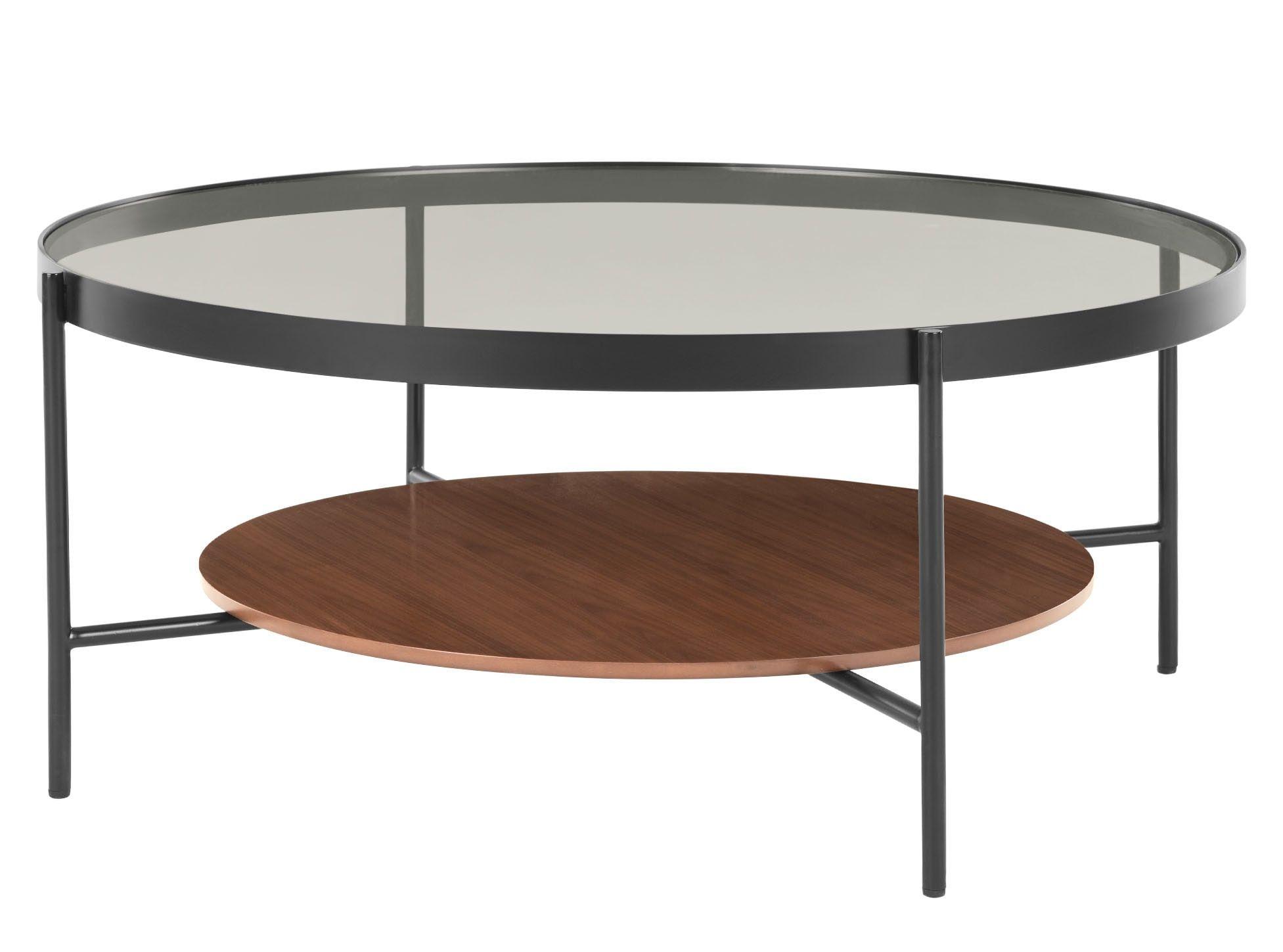 Kameko Table Basse Noyer Et Verre Koffietafel Salontafel Bijzettafel [ 1449 x 1953 Pixel ]