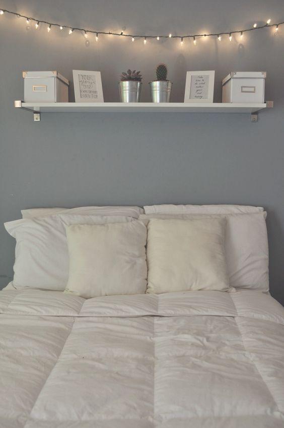 40 Gray Bedroom Ideas & Decor | Gray and White bedroom | Decoholic