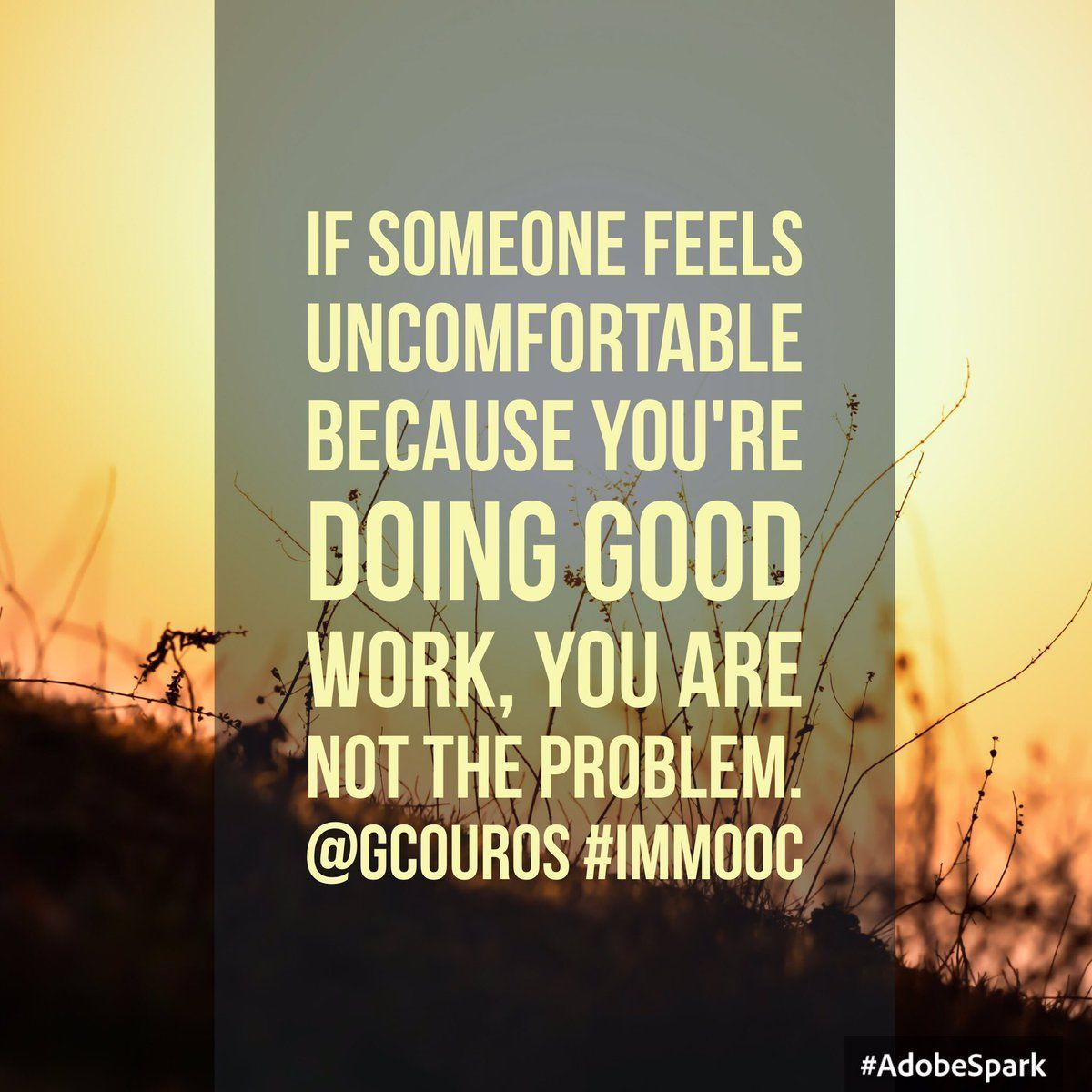 Immooc Hashtag On Twitter Good Thoughts Pinterest Principal