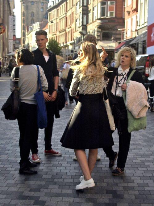 Copenhagen Fashion Week street styles