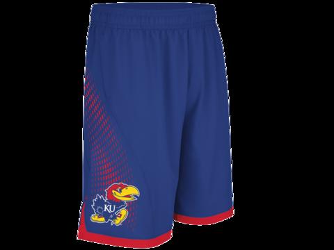 Kansas Jayhawks Adidas March Madness Basketball Shorts - Royal